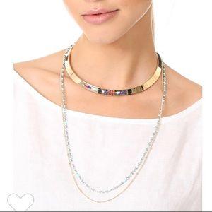 rebecca minkoff // layered collar necklace